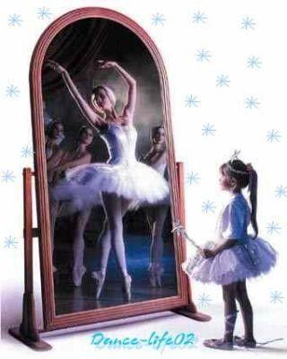 Danse classique page 7 for Reflet dans un miroir