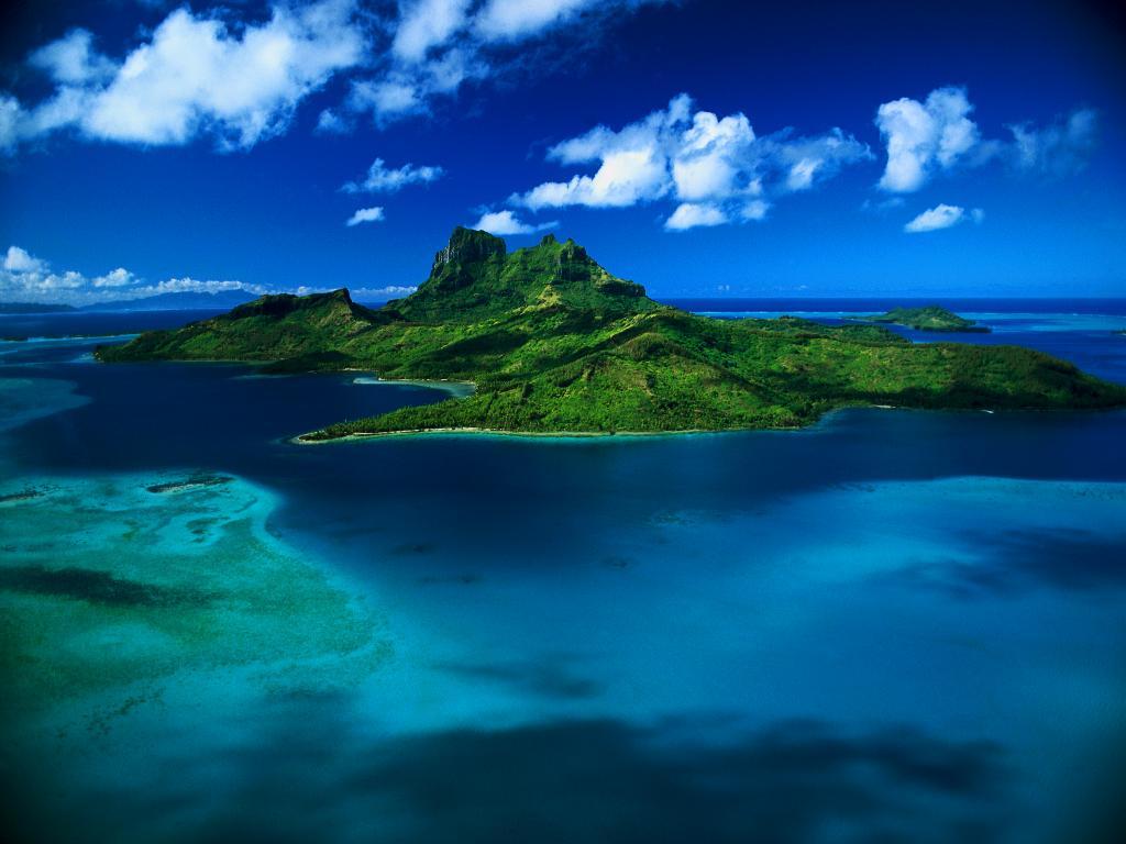 Fond d'écran Polynésie - fond d'écran