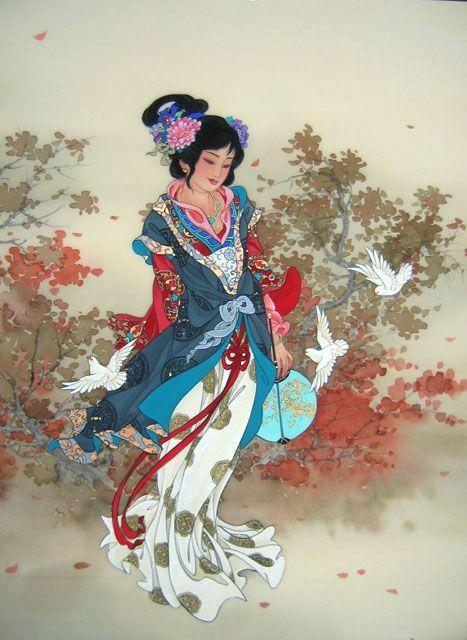 tatouage geisha tatouage fleur de cerisiers tatouage chrysanthemes